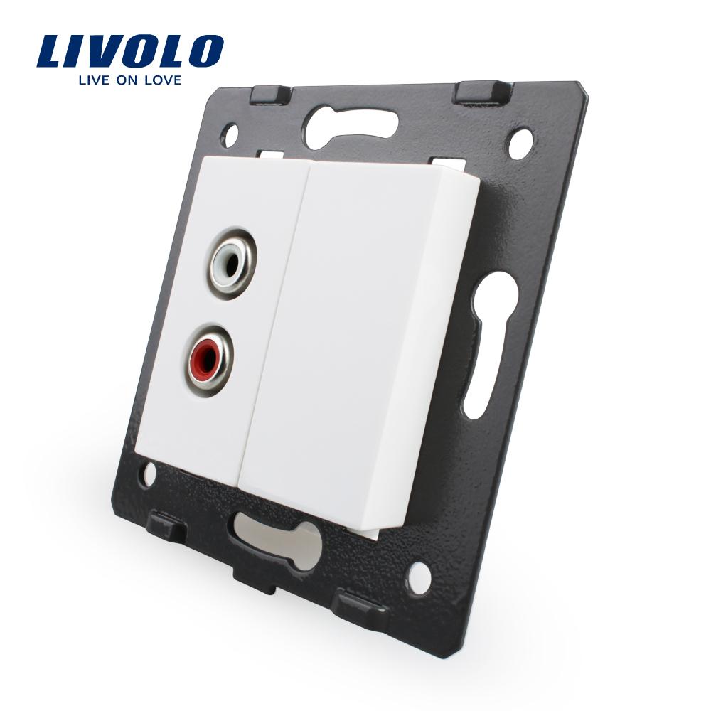 Priza audio Livolo imagine case-smart.ro 2021
