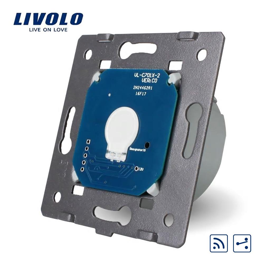 Modul intrerupator wireless cap scara / cap cruce cu touch LIVOLO imagine case-smart.ro 2021