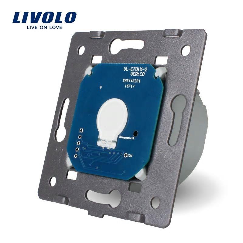 Modul intrerupator simplu cu touch LIVOLO imagine case-smart.ro 2021