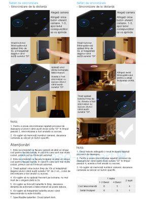 Telecomanda cu Touch Screen Livolo din sticla – model 2017