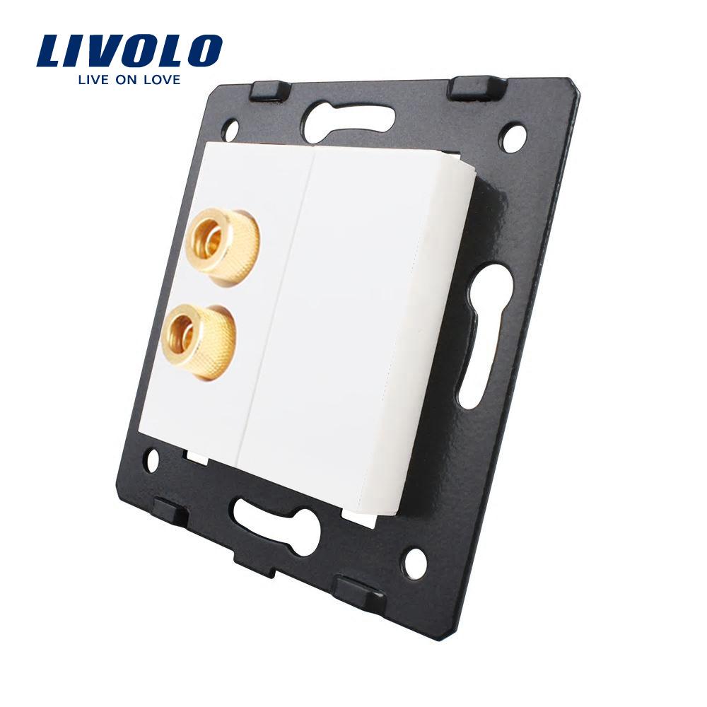 Priza cu mufa pentru redare sunet Livolo imagine case-smart.ro 2021
