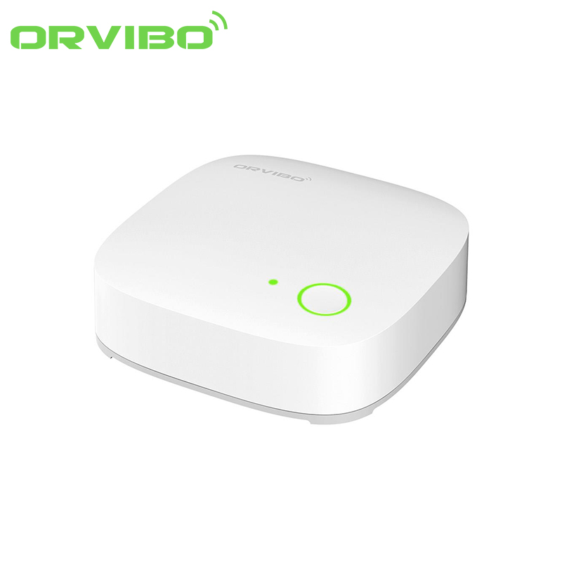 Unitate de control Orvibo WiFi Mini hub cu protocol ZigBee VS10ZW