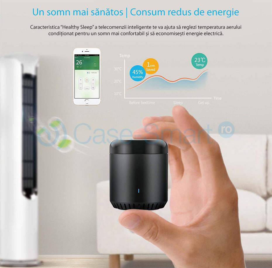 Telecomanda inteligenta Broadlink RM Mini 3 wi-fi 4g