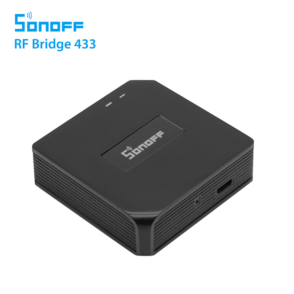 Hub inteligent Bridge RF Sonoff 433 Mhz imagine case-smart.ro 2021