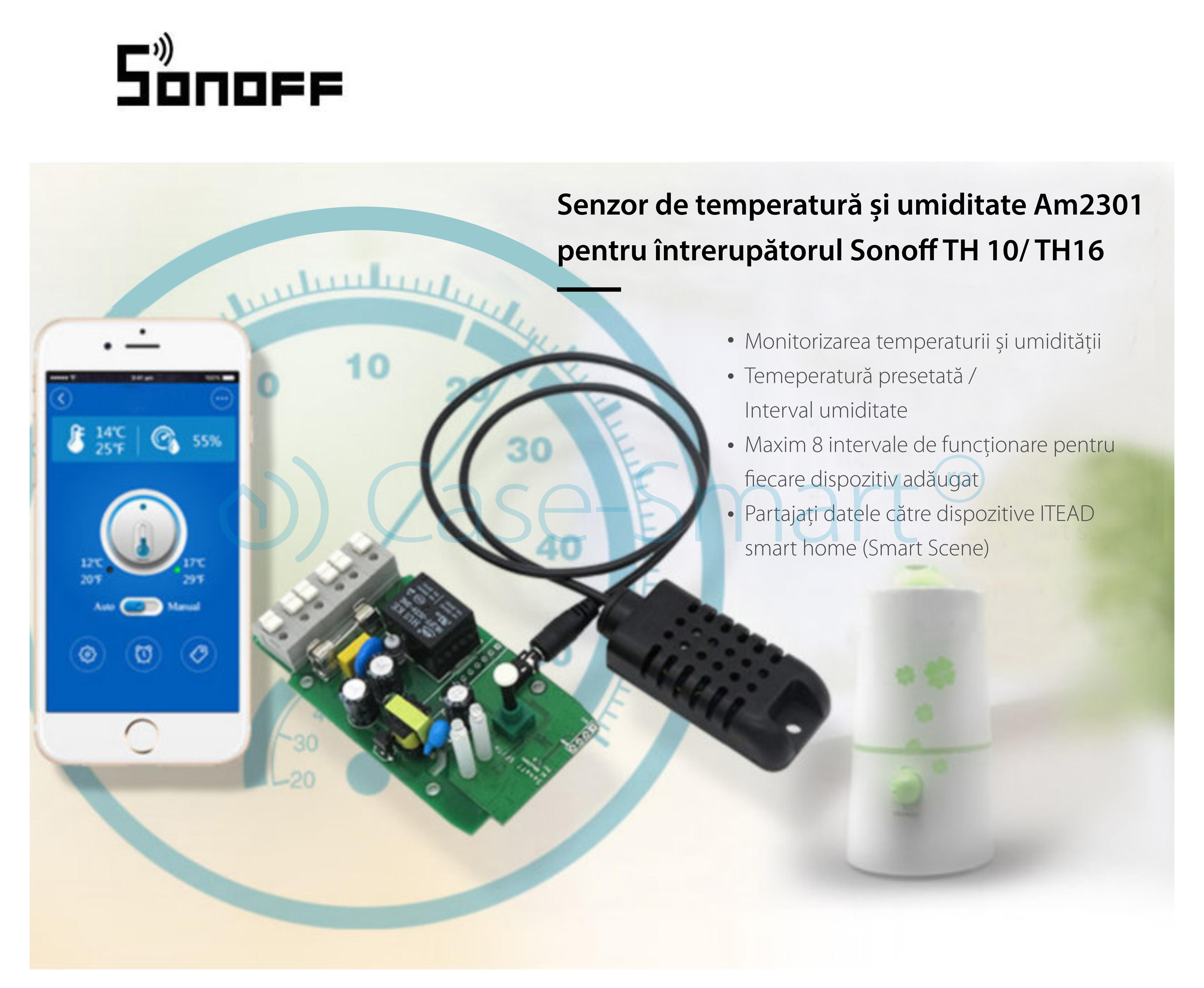 Senzor de temperatura si umiditate Sonoff SI7021