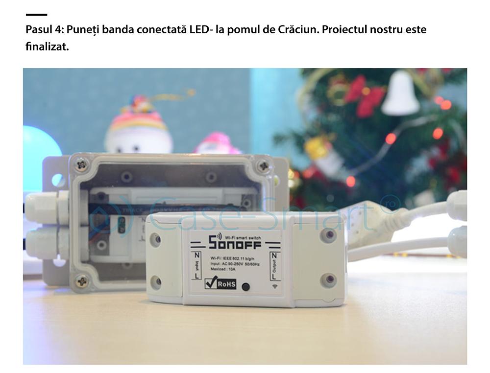 Carcasa rezistenta la apa pentru releu Sonoff IP66