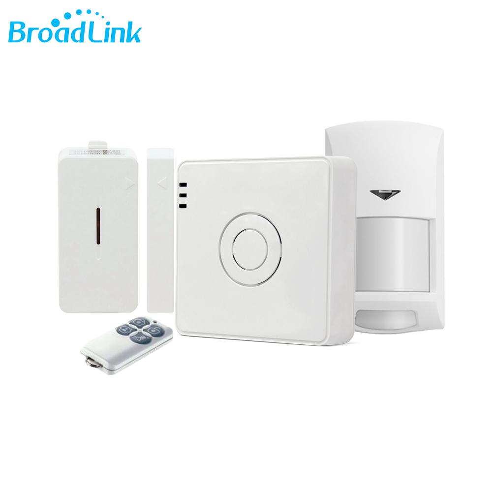 Kit Alarma inteligenta Broadlink Wireless S2C imagine case-smart.ro 2021