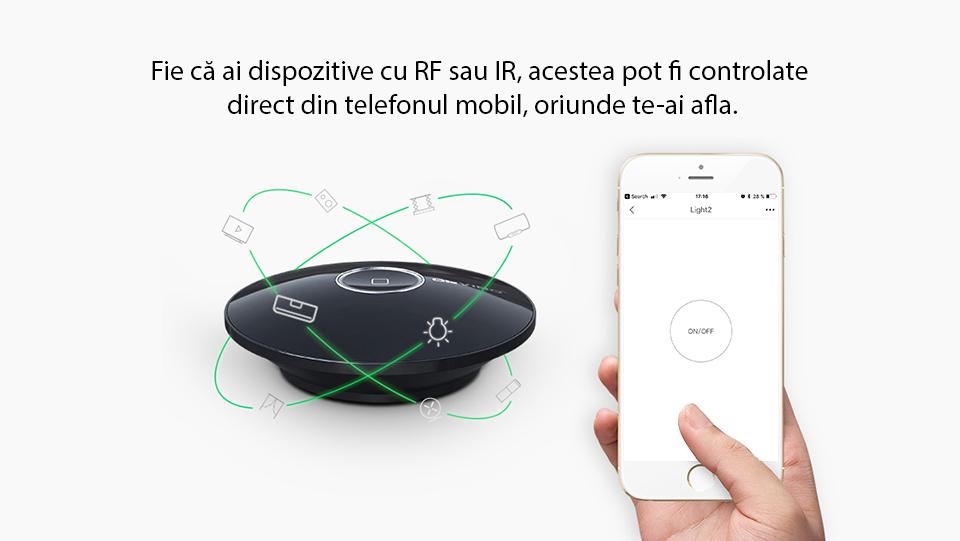 Hub inteligent cu functie de Telecomanda universala, Hub Allone Pro Orvibo