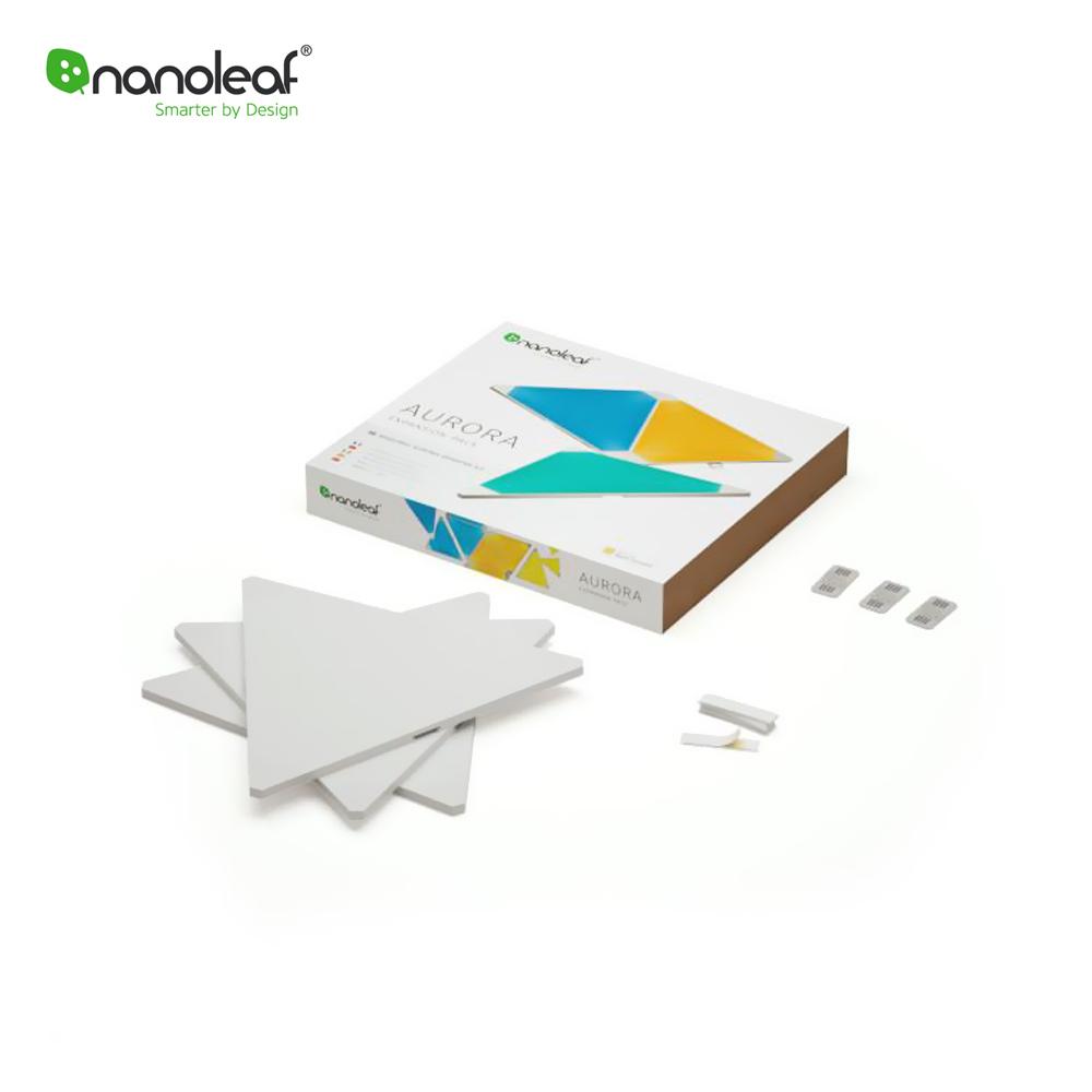 Pachet 3 Panouri Luminoase compatibile cu Nanoleaf Aurora imagine case-smart.ro 2021