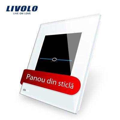 Panou intrerupator cu touch Livolo din sticla – Seria R