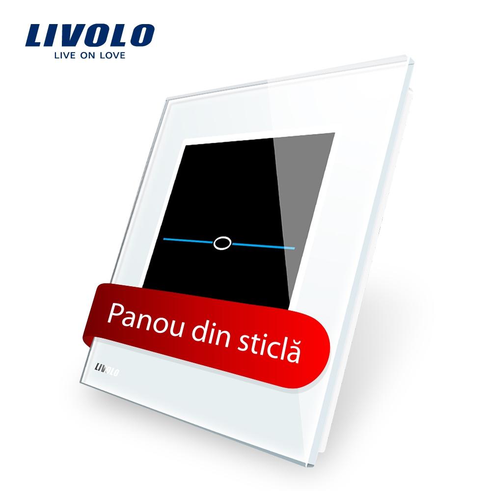 Panou intrerupator cu touch Livolo din sticla – Seria R imagine case-smart.ro 2021