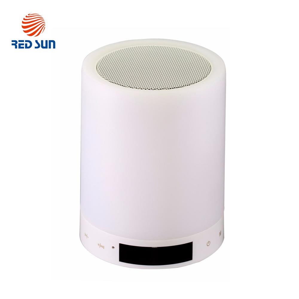 Boxa portabila si lampa RGB smart cu Bluetooth si touch Red Sun, RS-WBSL-X1 imagine case-smart.ro 2021