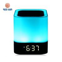 Boxa portabila si lampa RGB Red Sun DY-28 cu touch, ceas alarma si Bluetooth