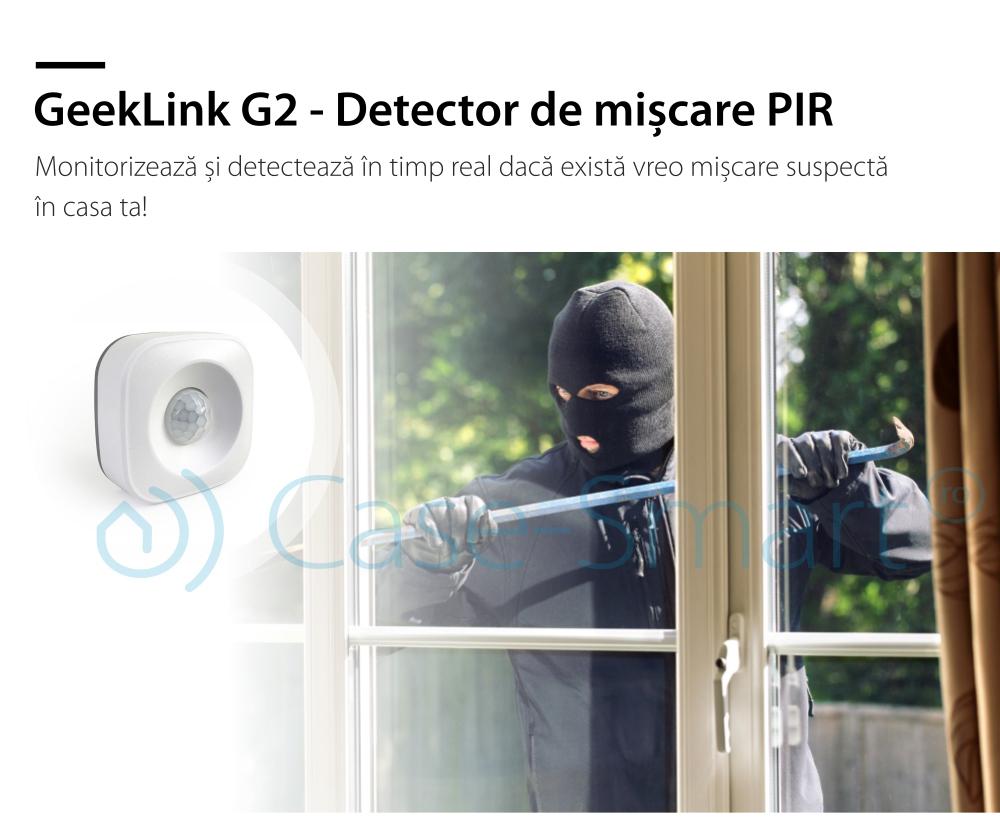 Senzor de miscare Geeklink