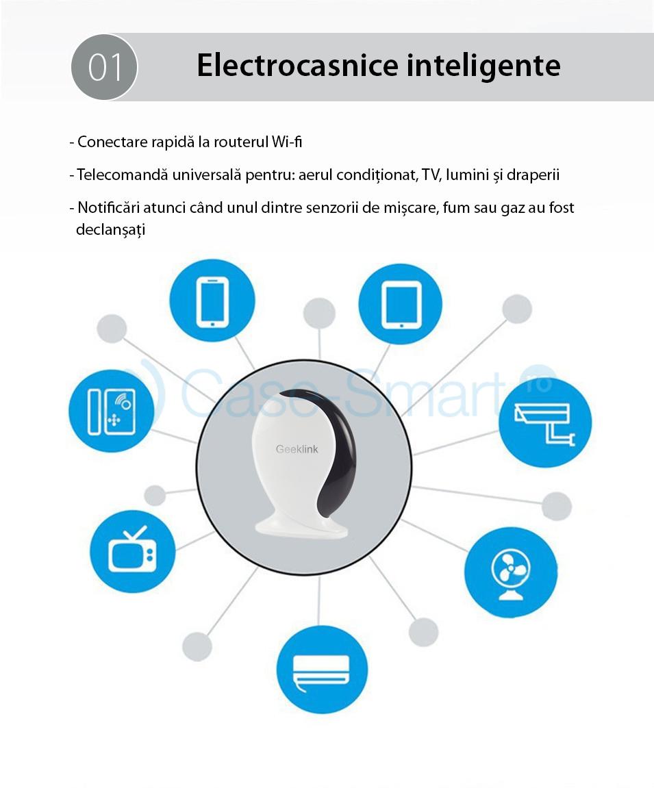 Centrala inteligenta si Telecomanda Universala Hub GeekLink Thinker