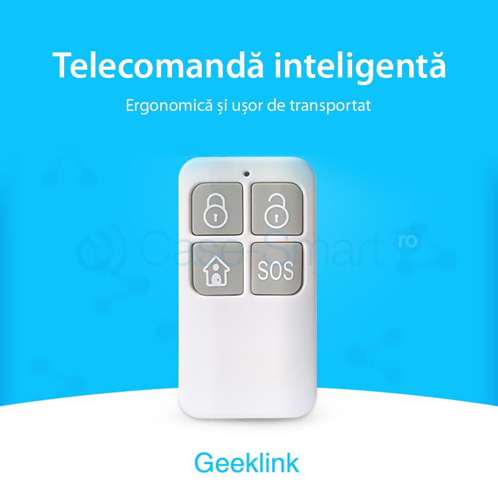 Telecomanda inteligenta wi-fi functie SOS Geeklink