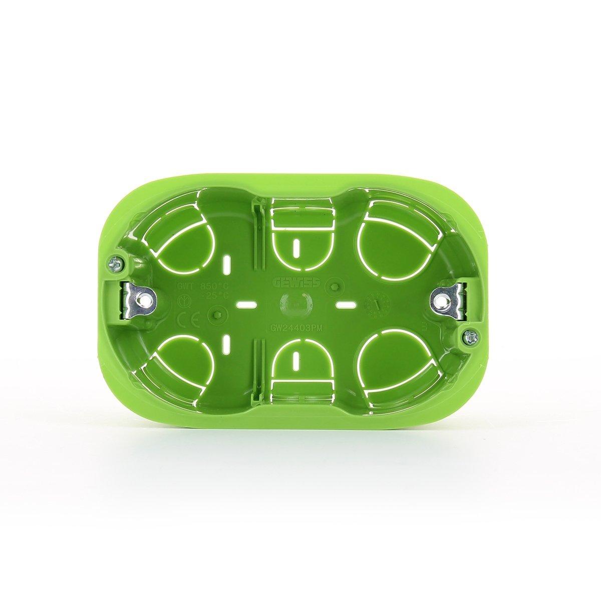 Doza rigips GW 24403PM 3 module compatibil – Livolo Standard Italian imagine case-smart.ro 2021