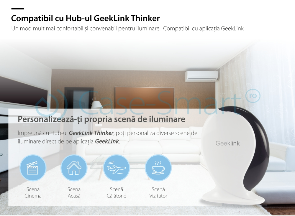 Intrerupator triplu Geeklink