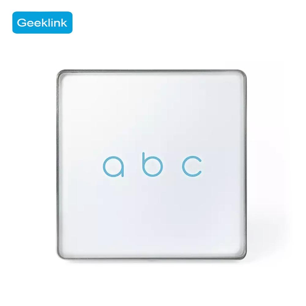 Intrerupator triplu Geeklink imagine case-smart.ro 2021