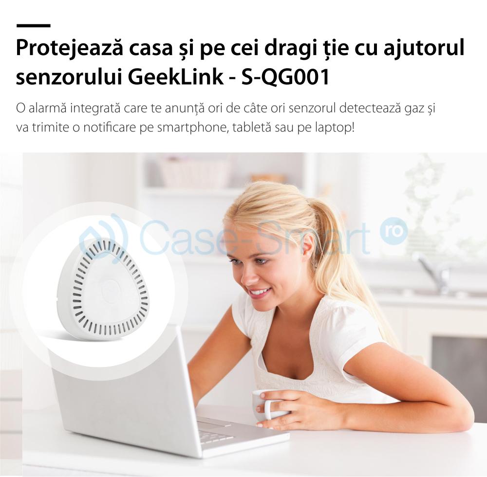 Senzor de gaz wireless Geeklink