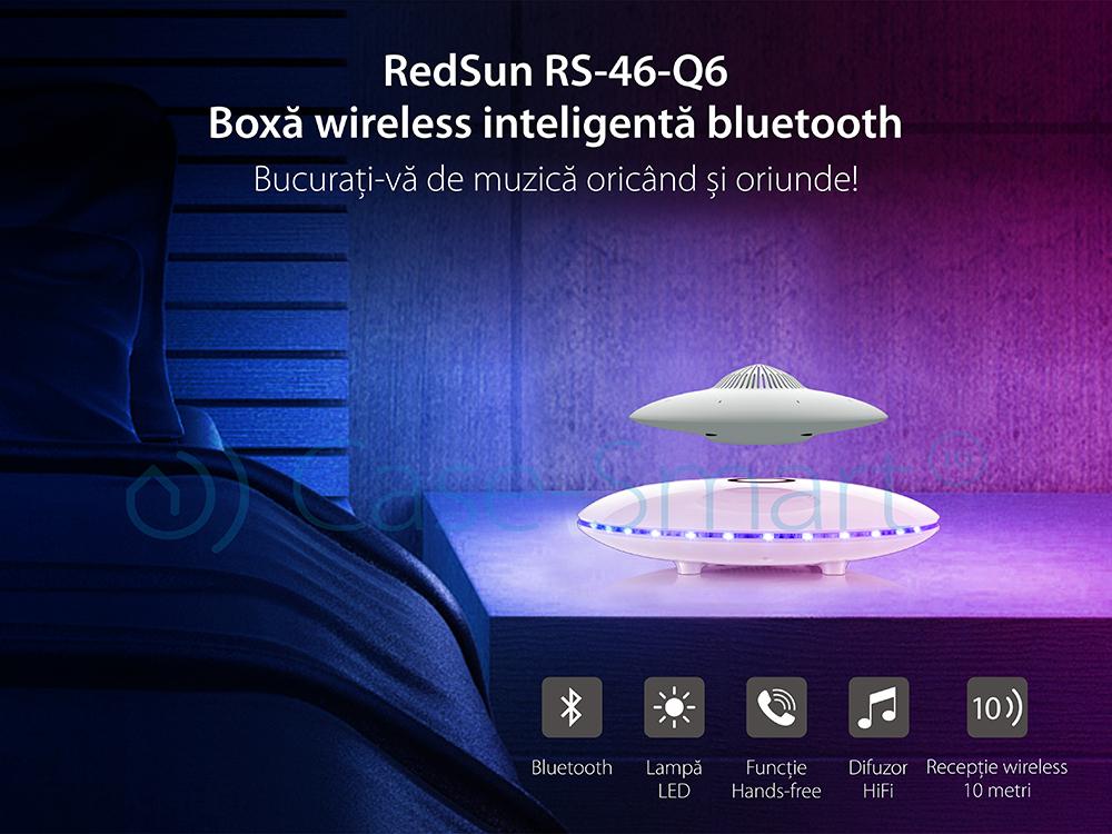 Boxa cu levitatie magnetica si conectare bluetooth Redsun, Redsun RS-46-Q6
