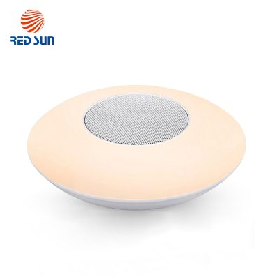 Boxa si lampa inteligenta ovala cu Bluetooth Red Sun RS-WBSL-X6