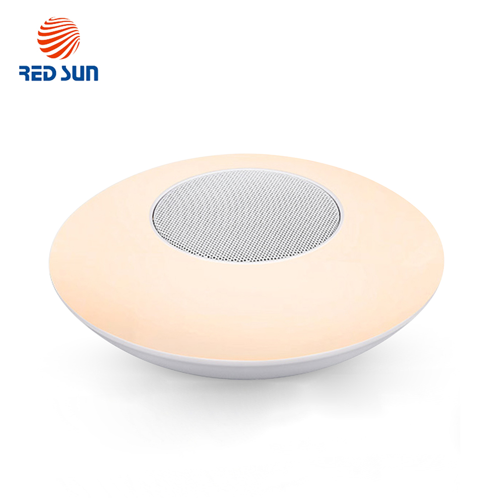 Boxa si lampa inteligenta ovala cu Bluetooth Red Sun RS-WBSL-X6 imagine case-smart.ro 2021