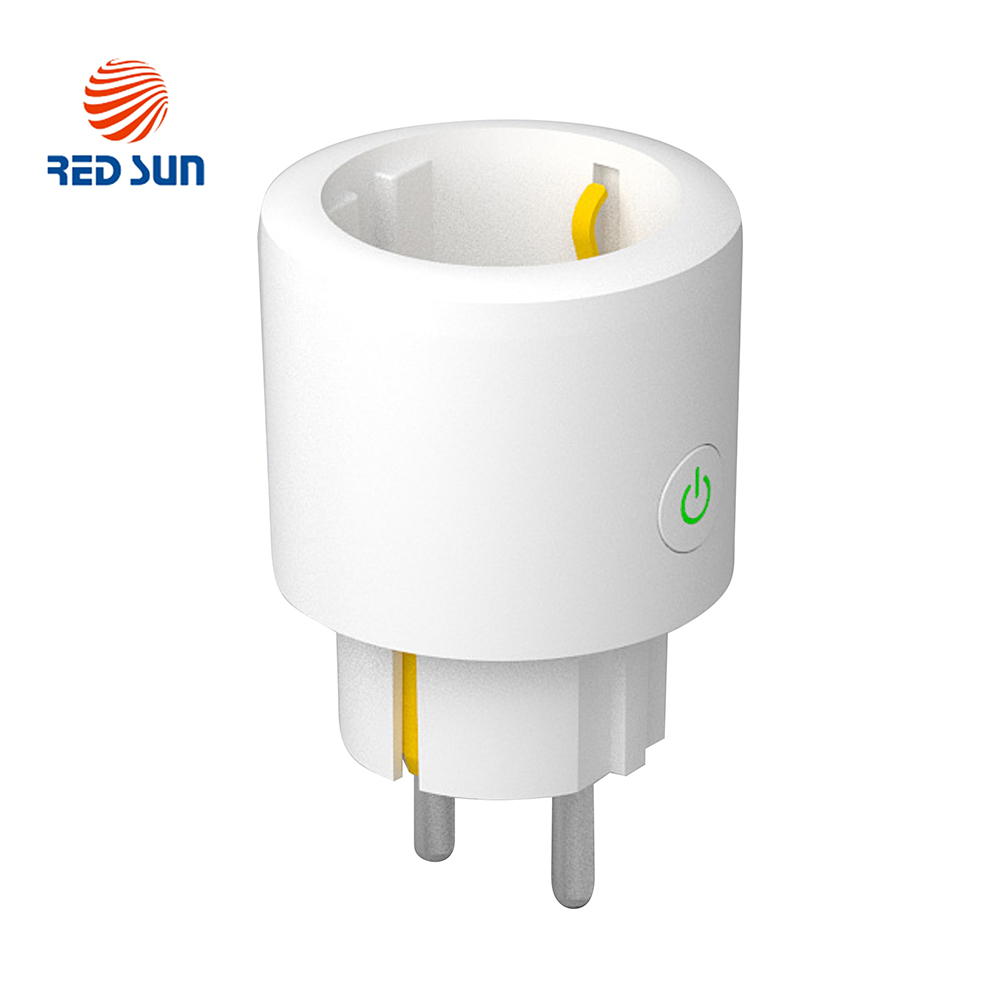 Priza inteligenta RedSun RS-SSB01 cu monitorizare de energie, compatibil Alexa si Google Home