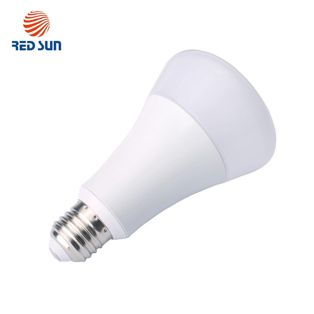 Bec inteligent LED RGB wireless Red Sun, control de pe aplicatie mobila Red Sun RS-P0105-5W imagine case-smart.ro 2021