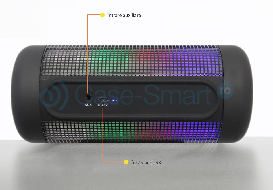 Boxa portabila cu lampa si Bluetooth Red Sun RS-9410B
