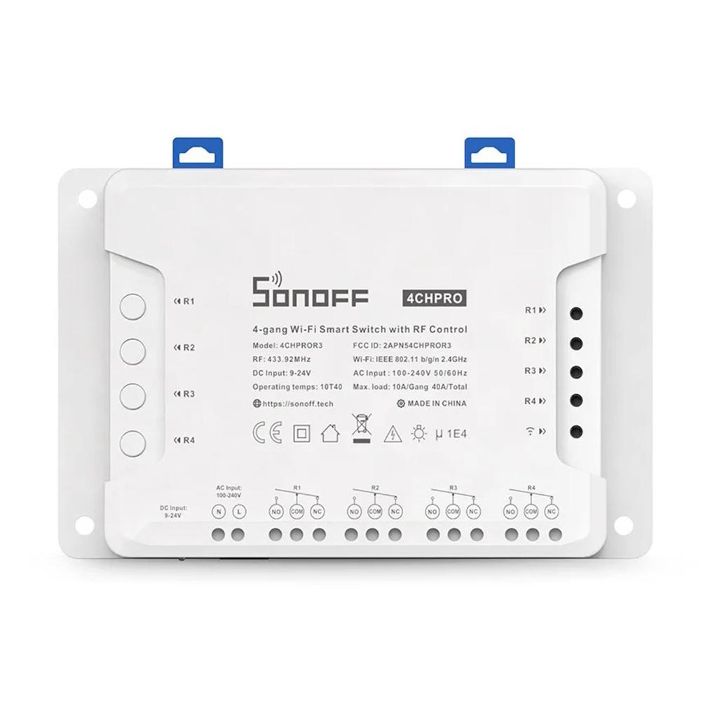 Releu Wireless 4 canale Sonoff 4CH Pro R3 imagine case-smart.ro 2021