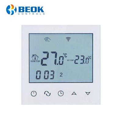 Termostat Wi-Fi pentru incalzirea electrica in pardoseala BeOk TDS21WiFi-Ep