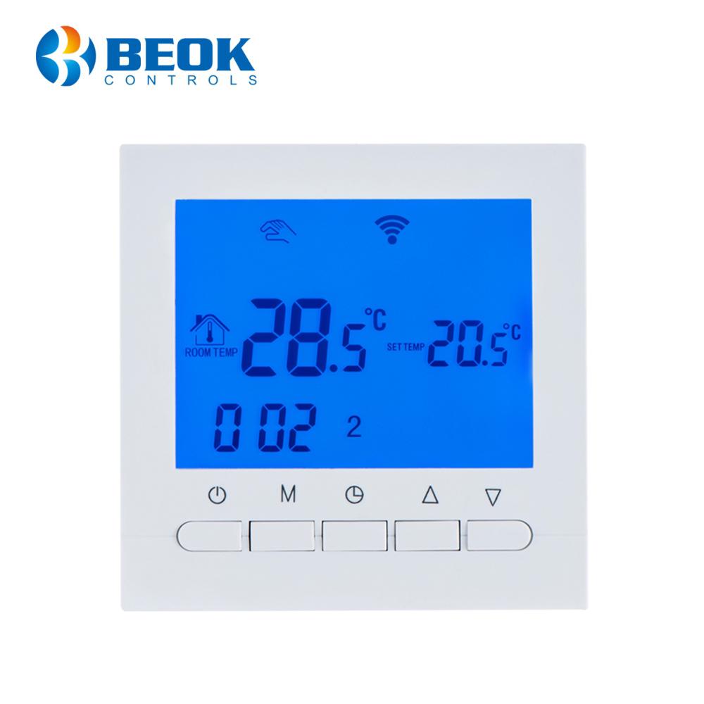 Termostat Wi-Fi pentru incalzirea electrica in pardoseala BeOk TOL313WiFi-Ep imagine case-smart.ro 2021