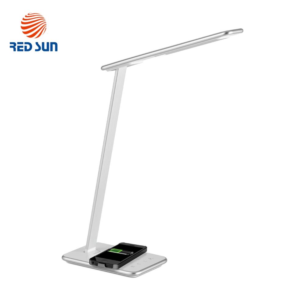 Lampa de birou cu incarcare wireless QI pentru telefonul mobil – RS-LTL-516W imagine case-smart.ro 2021