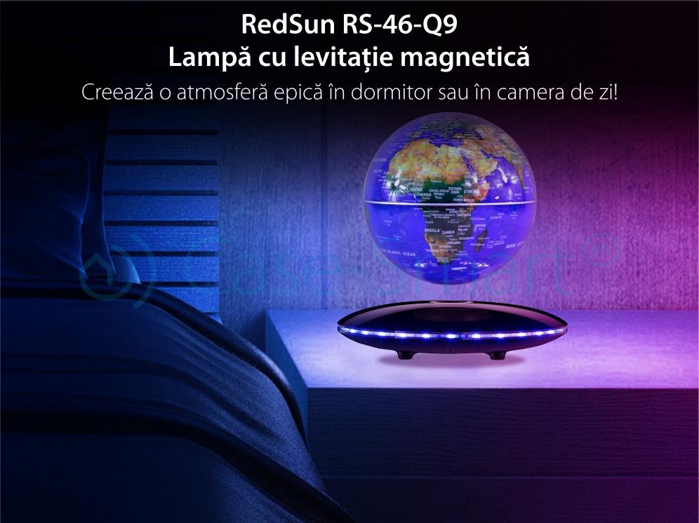 Lampa cu levitatie magnetica – Redsun RS-46-Q9