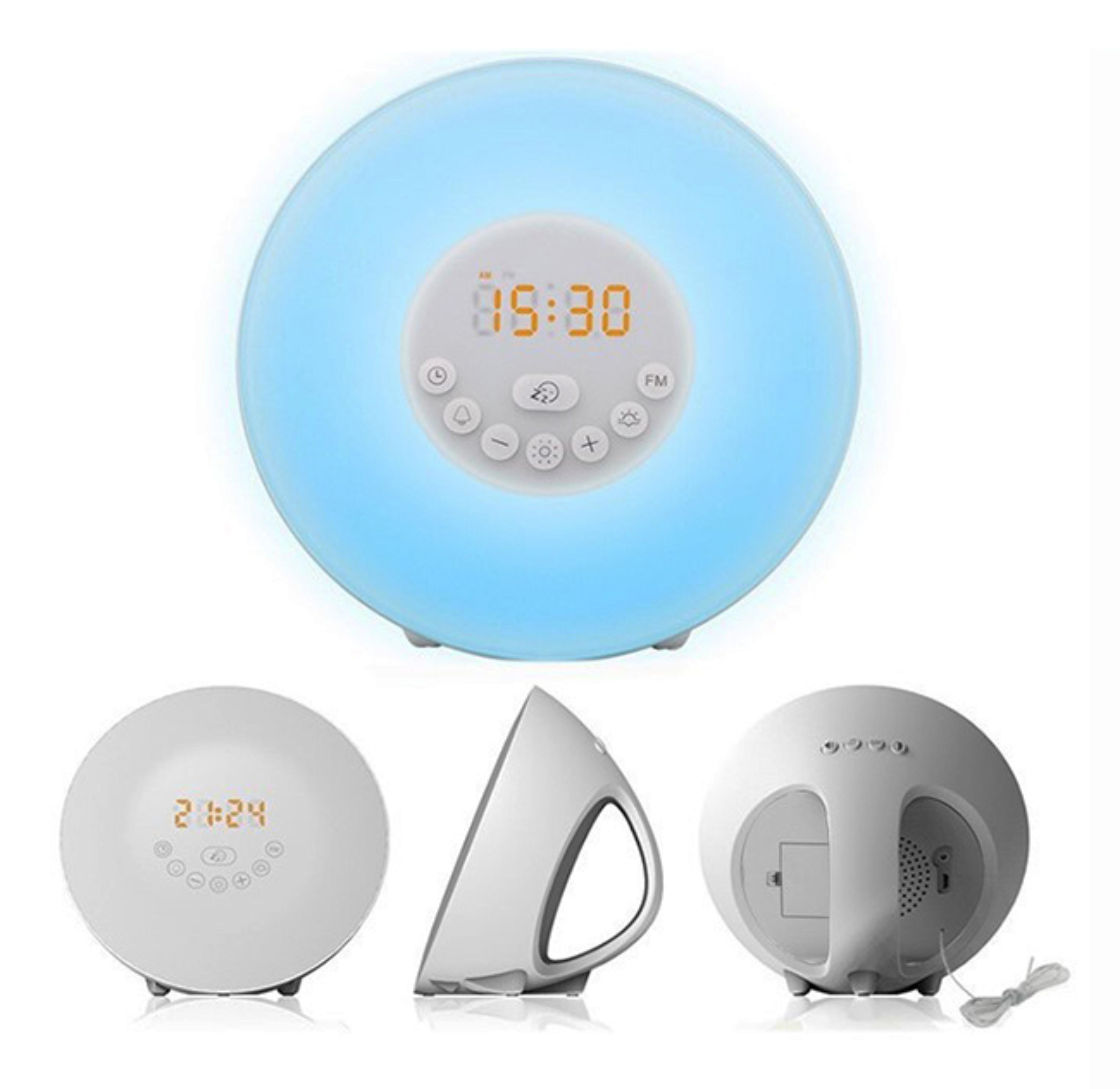 Boxa Bluetooth cu lampa, alarma si radio FM RedSun 6640C