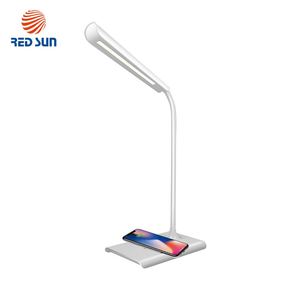 Lampa de birou LED cu incarcare wireless QI pentru smartphone RS-LTL-X8A-WC imagine case-smart.ro 2021