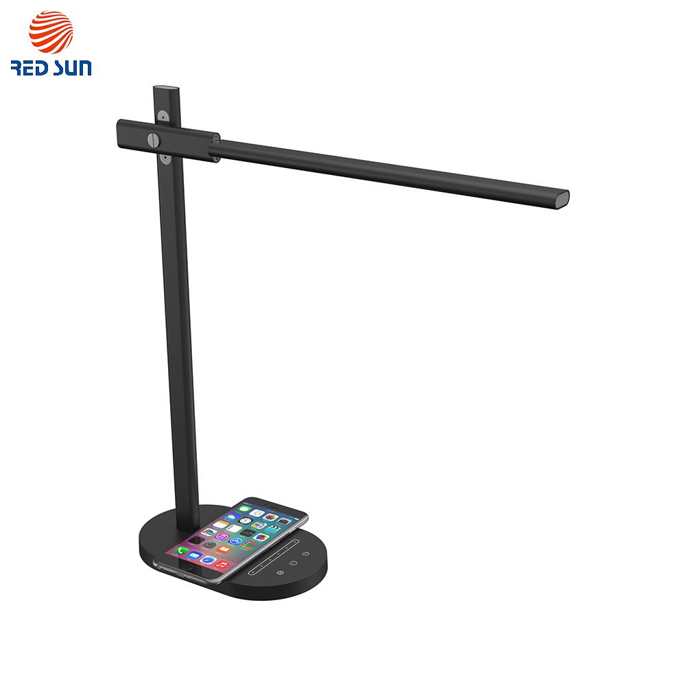 Lampa de birou cu incarcare wireless QI pentru telefonul mobil RS-LTL-508W imagine case-smart.ro 2021