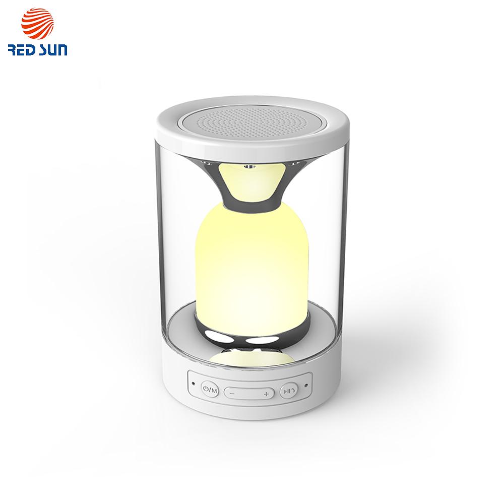Lampa cu touch si boxa portabila RedSun RS-WBSL-C08 imagine case-smart.ro 2021