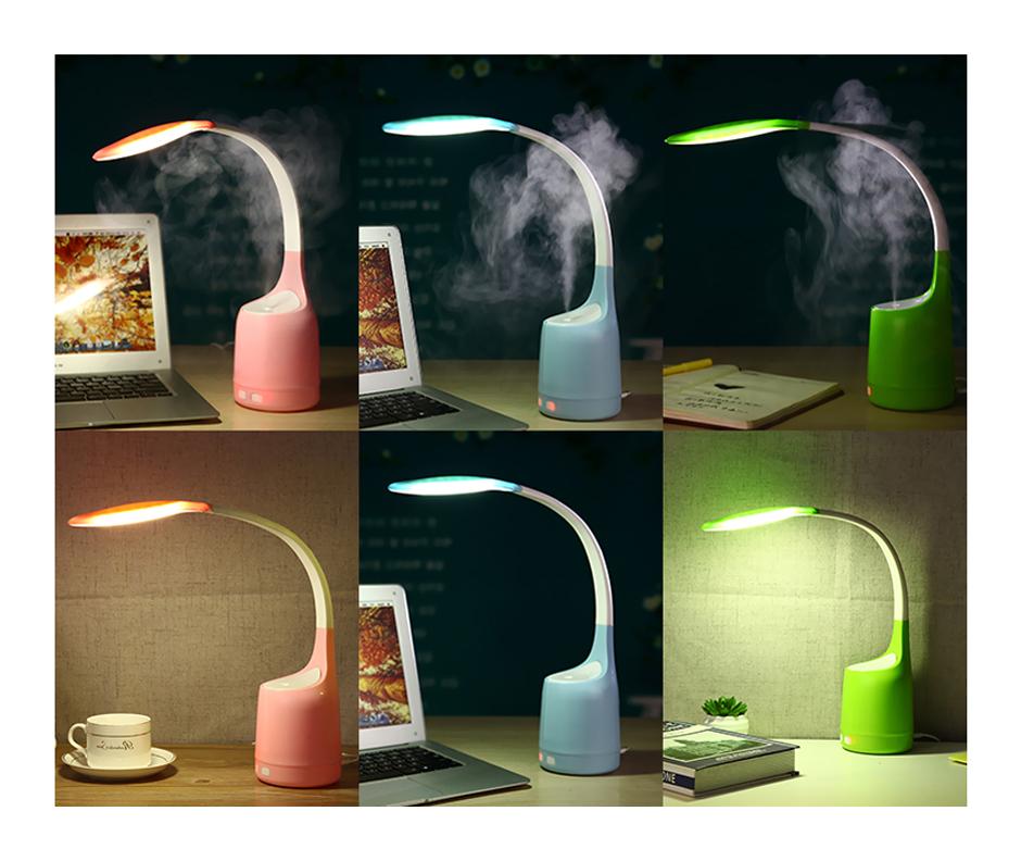 Lampa LED pentru birou cu umidificator de aer RedSun RS-Q20
