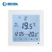 Termostat pentru centrala termica pe gaz si incalzire in pardoseala BeOK BOT-323W