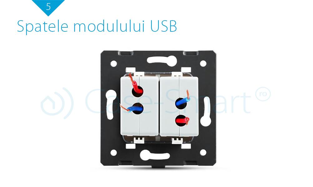 Priza Dubla USB Livolo