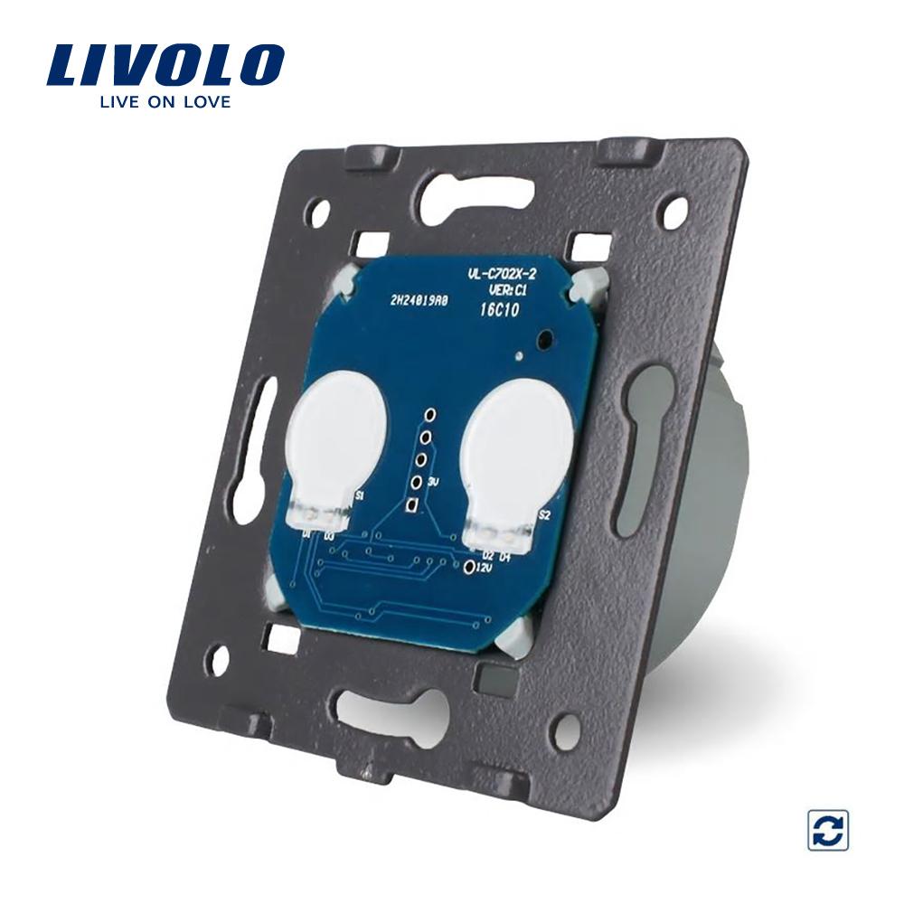 Modul reset dublu contact uscat cu touch LIVOLO imagine case-smart.ro 2021