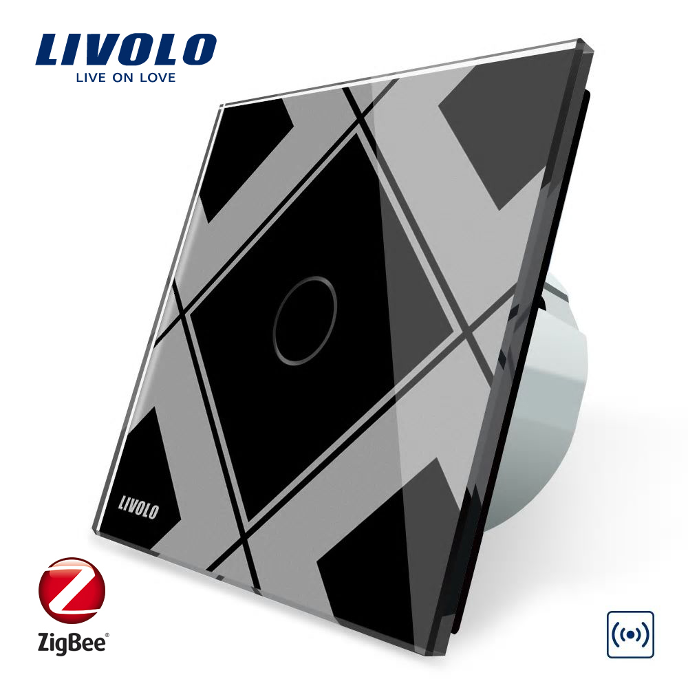 Hub Livolo ZigBee Control WiFi wireless imagine case-smart.ro 2021