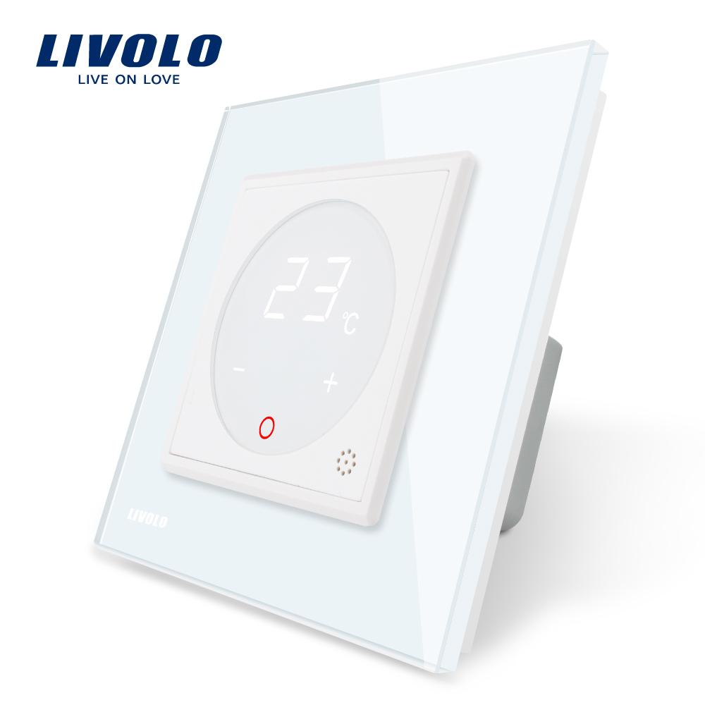 Termostat Livolo pentru sisteme de incalzire electrice imagine case-smart.ro 2021