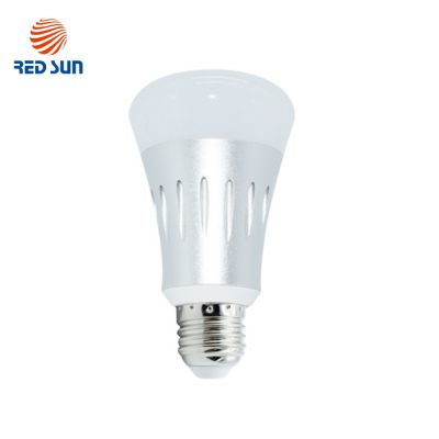 Bec inteligent LED RGB wifi rotund Red Sun, control de pe aplicatie mobila – RS-SLD02-E27