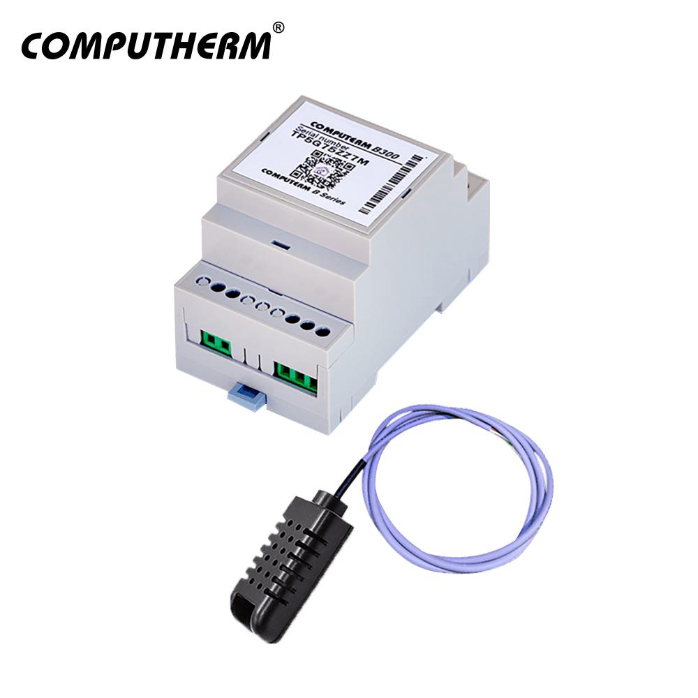 Termostat COMPUTHERM B300 Wi-Fi cu senzor de temperatura cu fir, Timer, Control de pe telefonul mobil, Distribuire control acces imagine case-smart.ro 2021