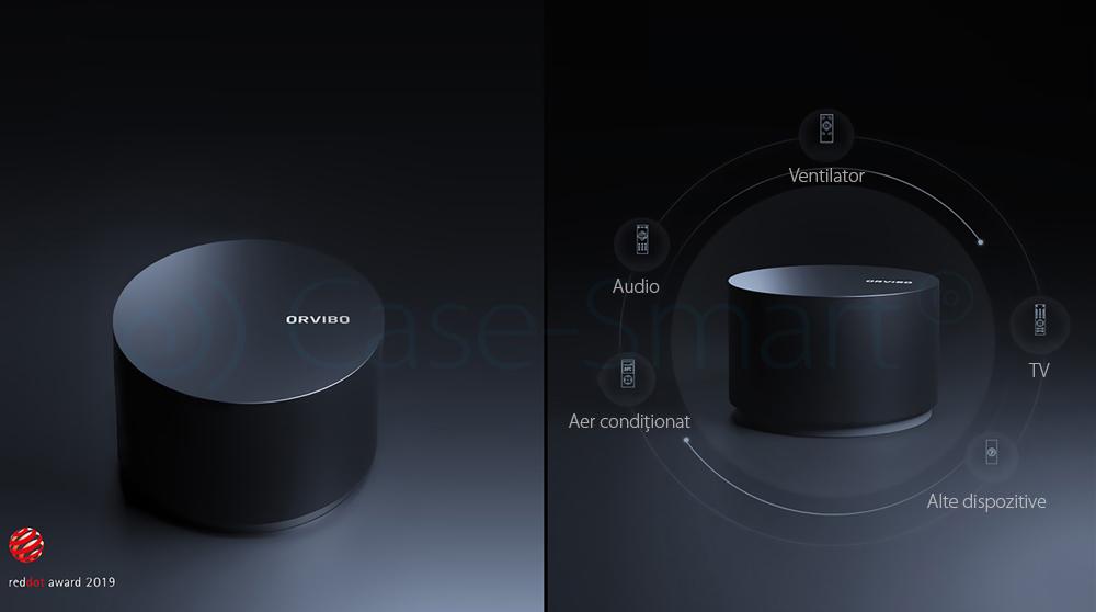 Cub Magic Orvibo CT30W, Wi-Fi + IR, Telecomanda universala, Programare interval de functionare, Control de pe telefonul mobil, Android/ iOS