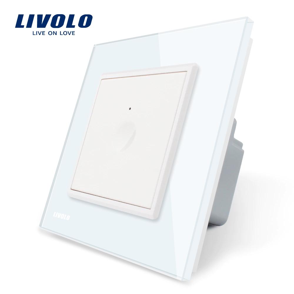 Intrerupator simplu cu touch Livolo din sticla, Serie noua imagine case-smart.ro 2021