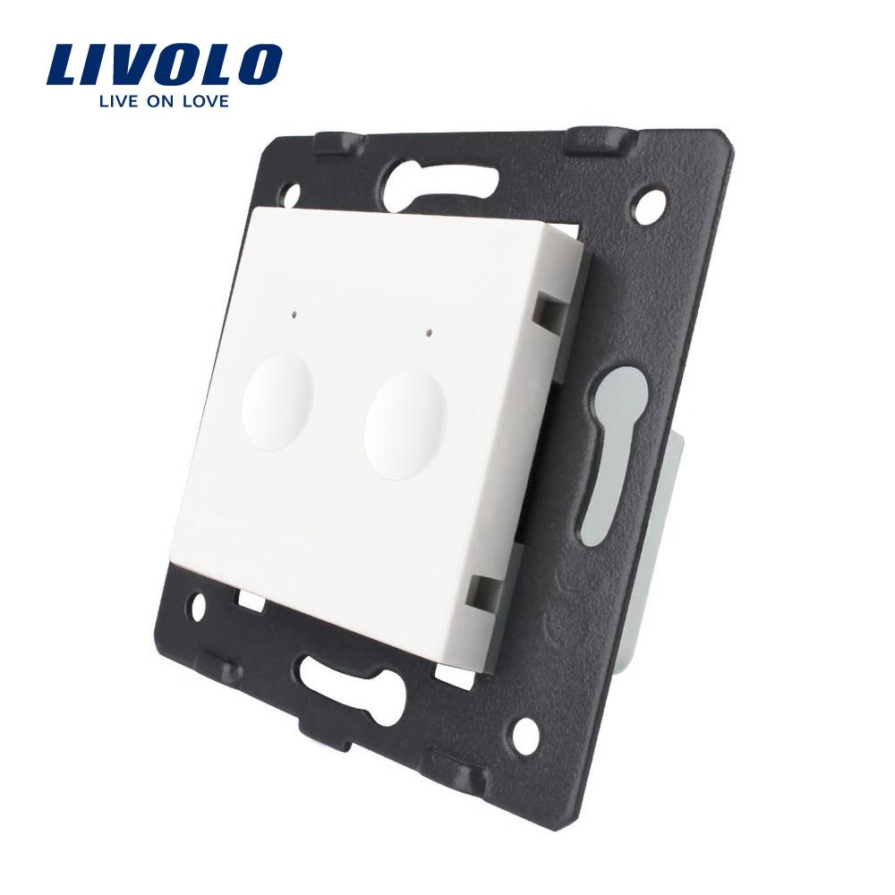 Modul intrerupator dublu cu touch LIVOLO, Serie noua imagine case-smart.ro 2021